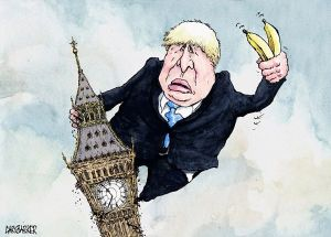 Boris johnson cartoon