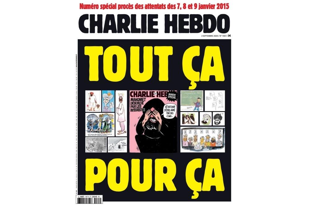 Tout ca pour ca Charlie Hebdo publie a nouveau les caricatures de Mahomet